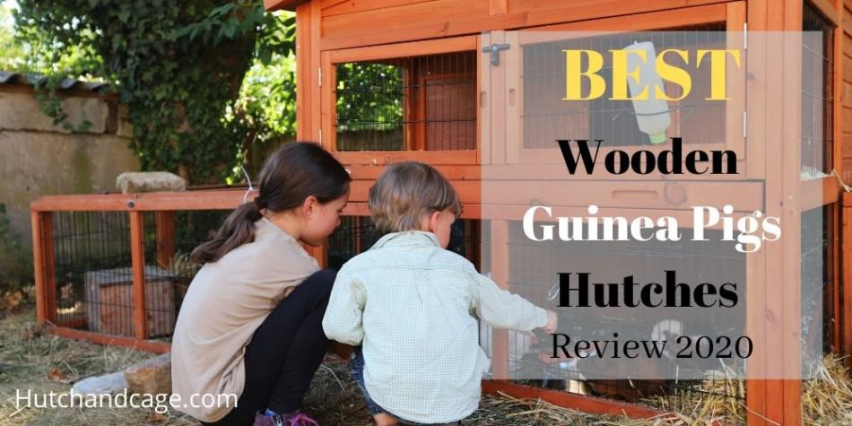 WOODEN GUINEA PIG HUTCH