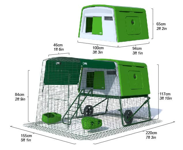 Eglu Cube chicken coop Review 2021 3