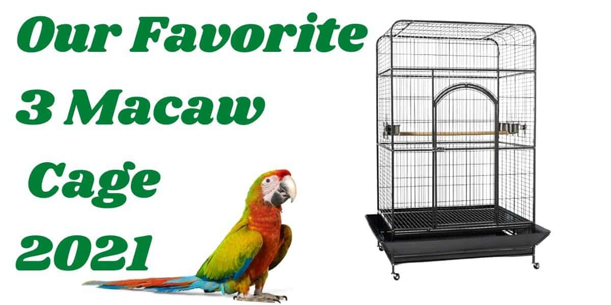 macaw cages